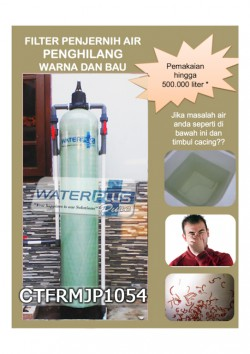 FILTER AIR WATERPLUSPURE PENGHILANG BAU DAN WARNA | CTFRMJP1054